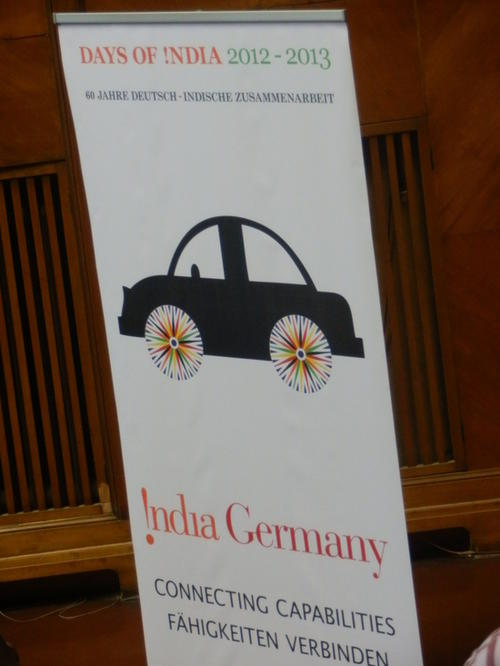 "Symposium organized as part of the ""Days of India"" celebrations in Germany!"