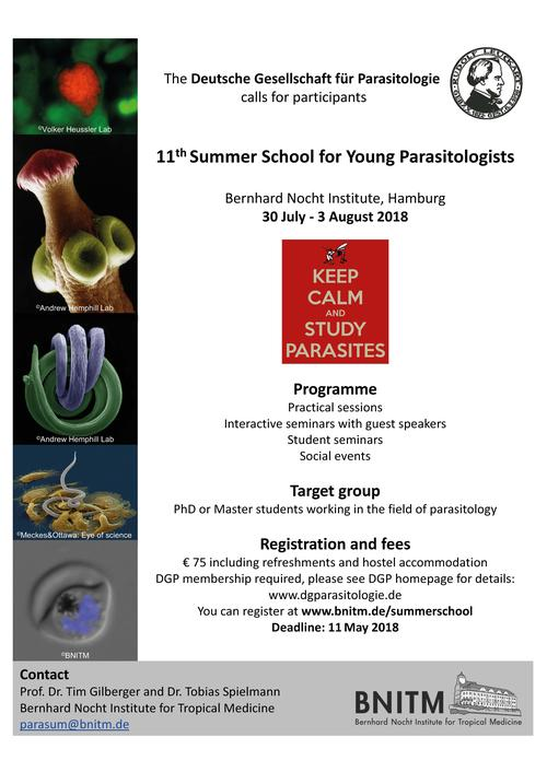 Summer School Young Parasitologists
